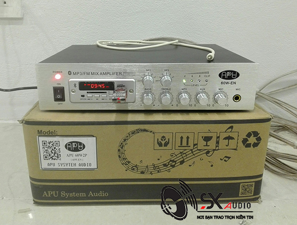 Amply APU 60w dùng cho loa âm trần